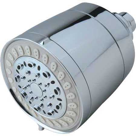 Sprite's Cascading Contemporary 5-spray filtered shower head is perfect for modern homes.