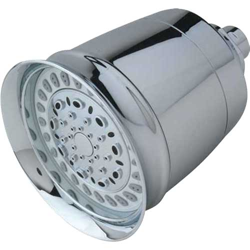 cascading 8spray filtered shower head adds a touch of elegance cascading traditional shower