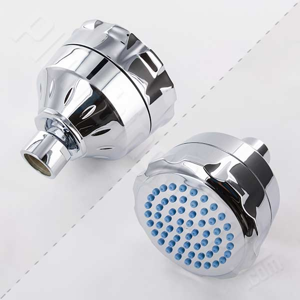 The Sprite Ultimate filtered shower head (shown in Chrome) is ALSO Water-Sense certified with a full spray low flow rate!