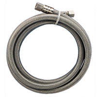 lead free braided stainless steel supply hose