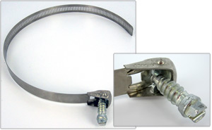 snap lock hose clamps stainless steel image
