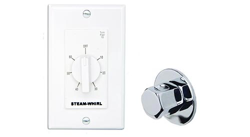 Classic series timer, steam head and escutcheon