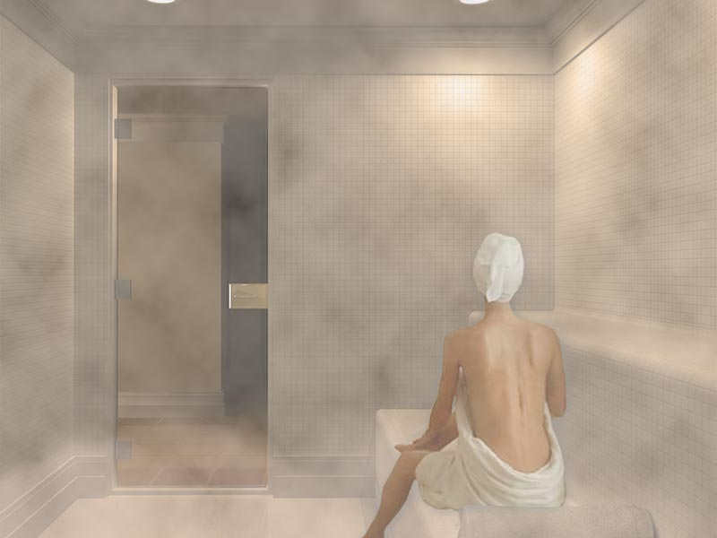 Residential commercial steam generators and sauna rooms for Bathroom photoshoots