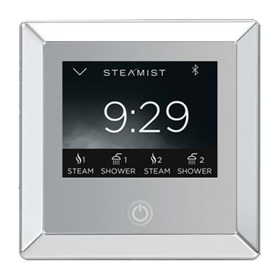 Steamist 450 digital controller in Transitional style