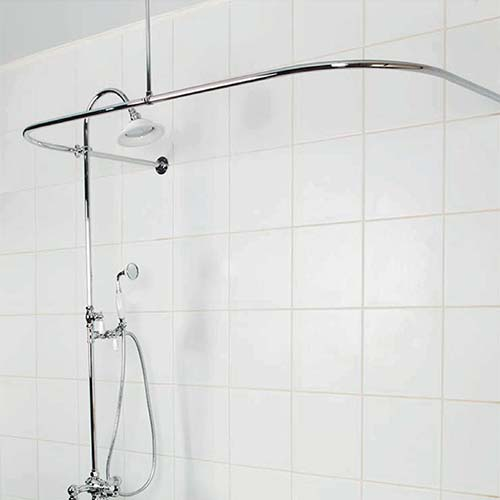 Curtains Ideas D Shaped Shower Curtain Rod : Shower Heads U0026 Shower  Accessories