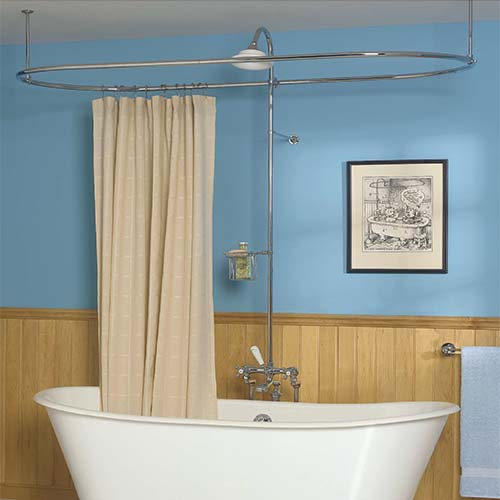 Victorian-Style Showers & Shower Accessories