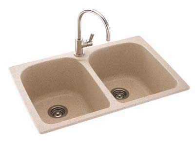 Swanstone Super Capacity Double Bowl Sink
