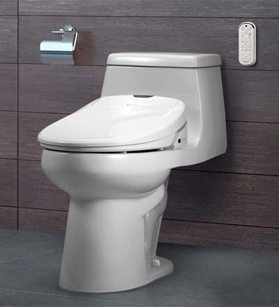 Swash Bidet Seat installed