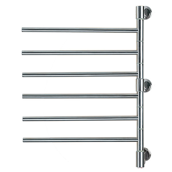 Image of Swivel Towel Warmer With 6 straight rails
