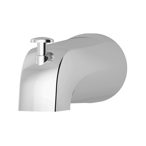 Allura series 053 slip-on diverter tub spout in chrome