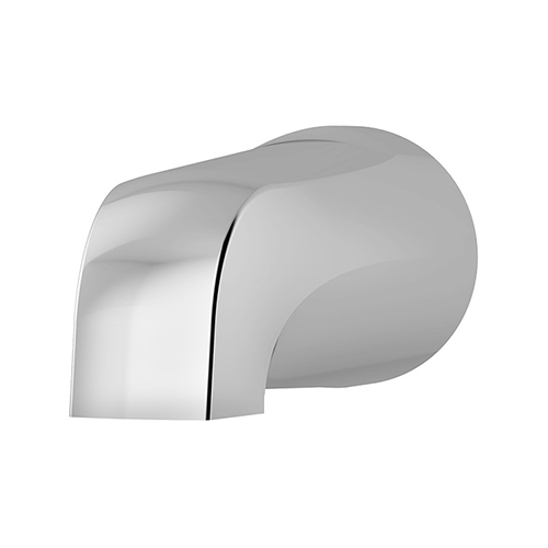 Allura series 061 slip-on non-diverter tub spout in chrome