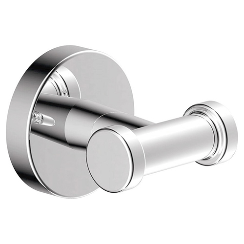 Dia series 353DRH double robe hook in chrome