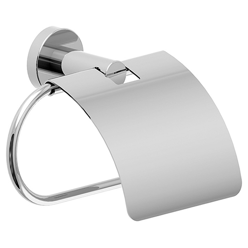 Dia series 353TPC toilet paper holder with cover in chrome