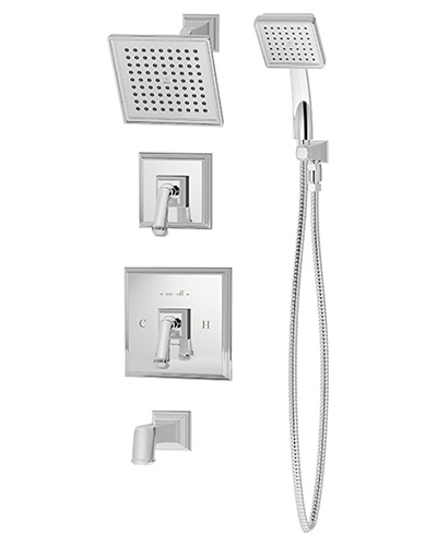 Oxford Complete Tub/Shower/Handshower System