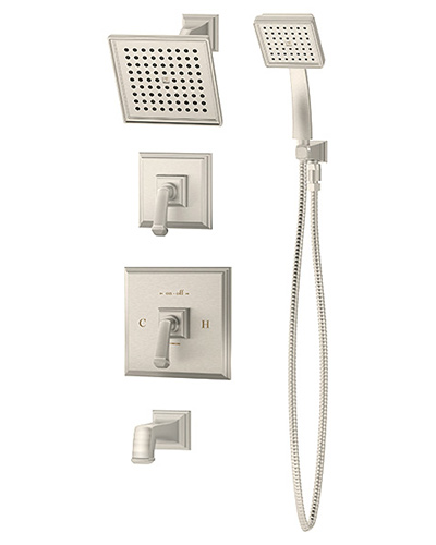 Symmons Oxford Tub/Shower Systems
