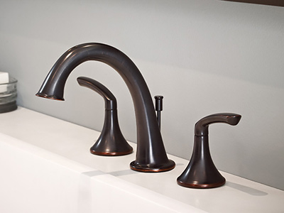 Elm faucet installed