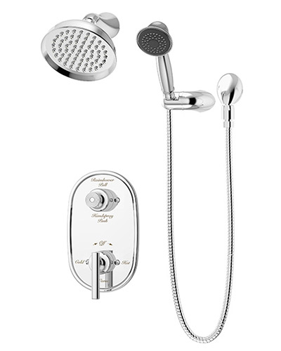 faucet to shower converter hose system. 4605 hand shower and head system Lucetta Series Tub Fillers  Shower Systems