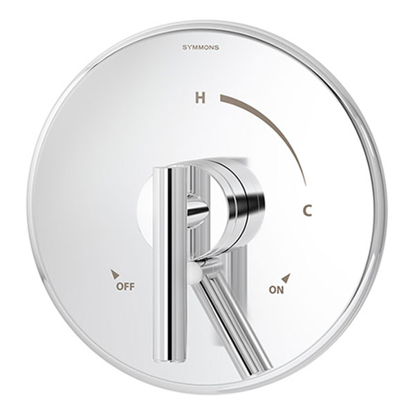 Dia series S-3500 shower valve and trim with volume control in chrome