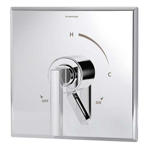 Duro series S-3600 shower valve and trim with volume control in chrome