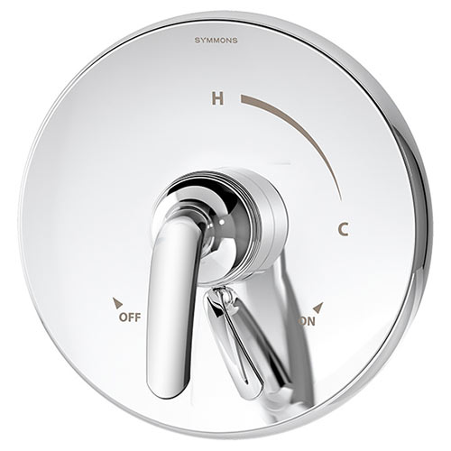Elm series S-5500TS shower valve and trim with diverter in chrome