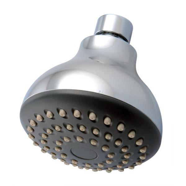 Euro-Flo single spray showerhead