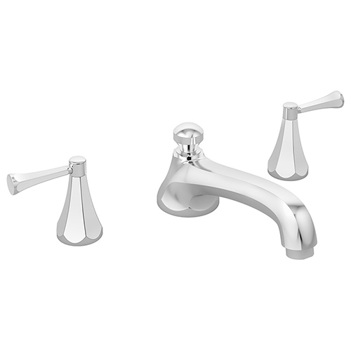Image of Canterbury Roman tub faucet, shown in chrome