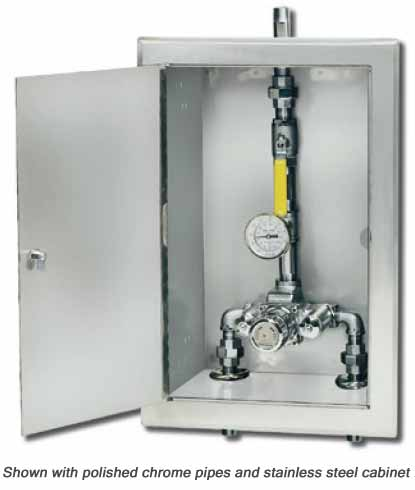 Thermostatic Mixing Valves By Symmons Industries