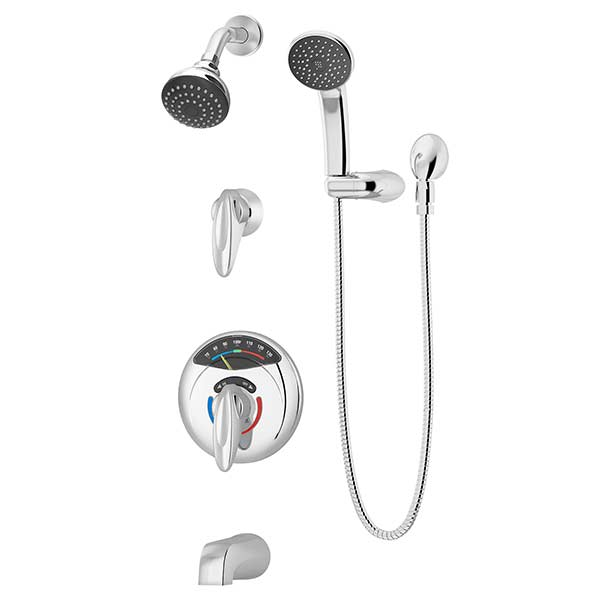 visutemp with clearvue shower tubshower system