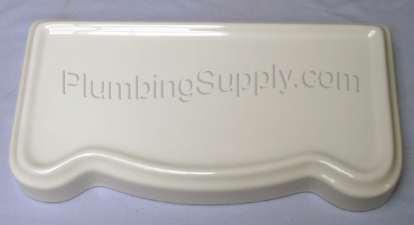 Westminster tank lid in white