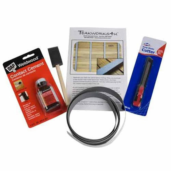 Image of teak maintenance kit