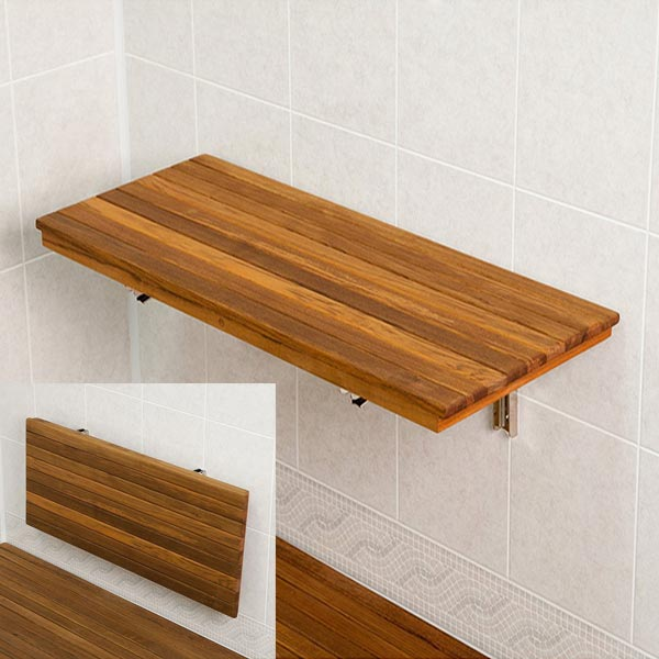 Teak Shower Benches Add Luxury To Your Shower