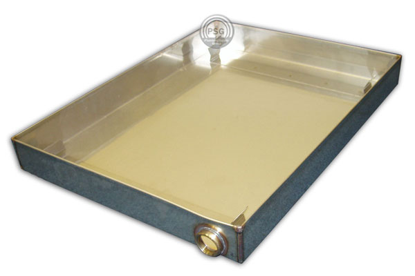 Picture of the Thermasol protective drain pan