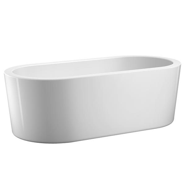 Barclay Ollie freestanding oval-shaped bathtub