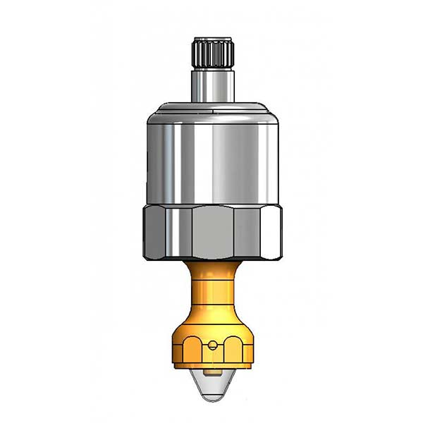 Fast-close bubbler cartridge - 015317-40