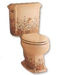 English Trellis Kohler toilet