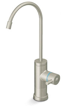 Satin Nickel Contemporary Dispenser Faucet