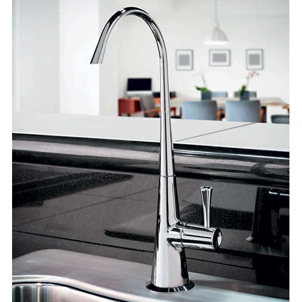 Chrome Ultra Contemporary Reverse Osmosis dispenser faucet
