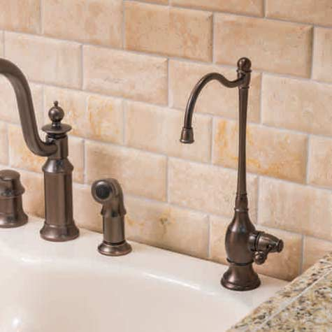 Designer Dispenser Faucets For Use With Ro Reverse