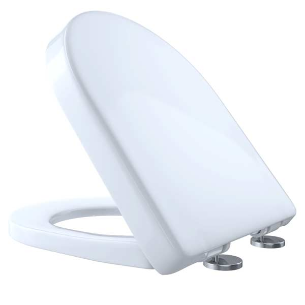 D-Shaped SoftClose toilet seat