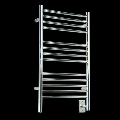 Image of 13 bar towel warmer, shown in brushed stainless