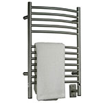 Curved bar Jeeves towel warmer