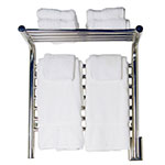 Shelf towel warmer