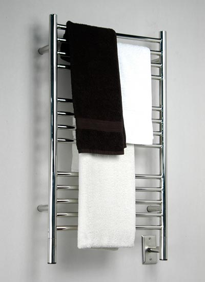 Image of Straight Towel Warmer With 13 Cross Bars, shown in polished finish