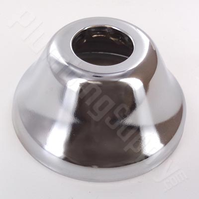 11/16-inch OD designer bell escutcheon for copper cover tubes