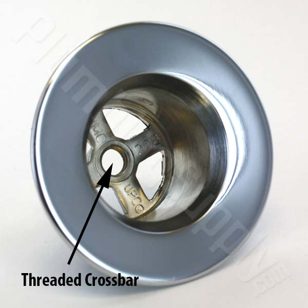 Works On Almost All Bathtub Drain Flanges WITH Existing Crossbars