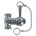 Pull-chain shower valve