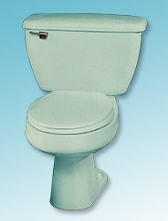 Amega two-piece toilet