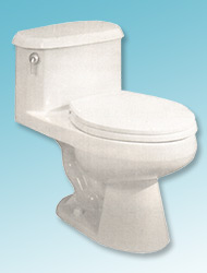 Astoria one-piece toilet