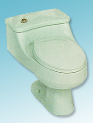 Bordeau one-piece toilet