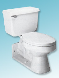 Carlton back-outlet toilet